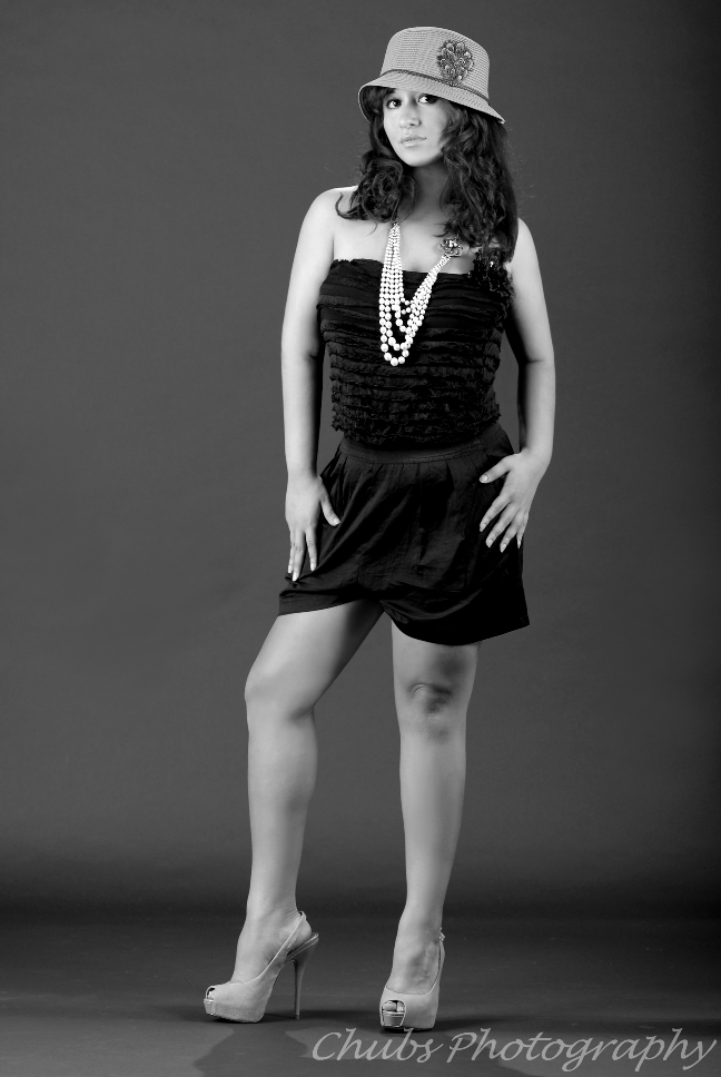 Female model photo shoot of Elle Paris by chubs photography
