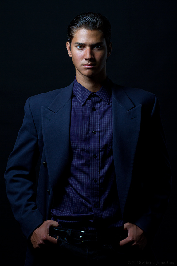 Male model photo shoot of Michael James Cox in Miami Beach
