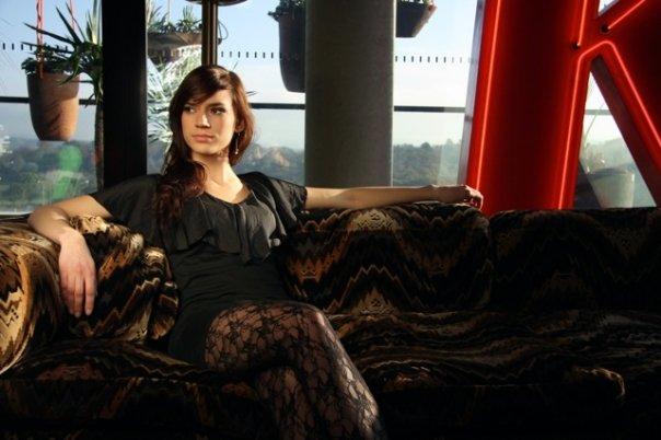 Female model photo shoot of L a r i s s a in Canberra city apartment