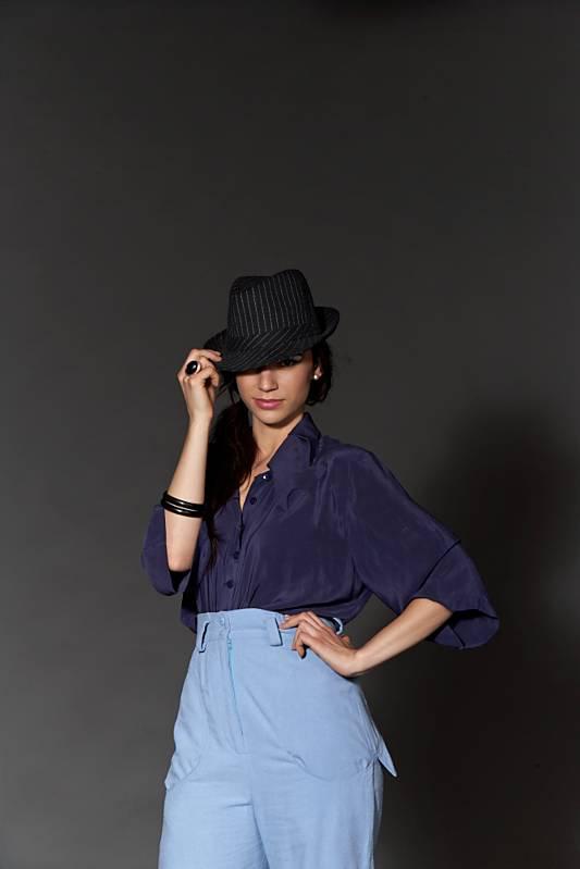 Female model photo shoot of L a r i s s a by StanB in Vogue Photography studio