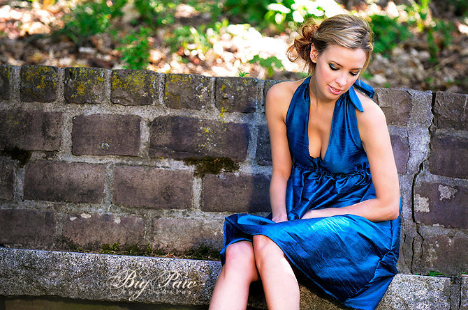 Female model photo shoot of katrina la rose by Big Paw Photo Syracuse, makeup by A-List Artistry