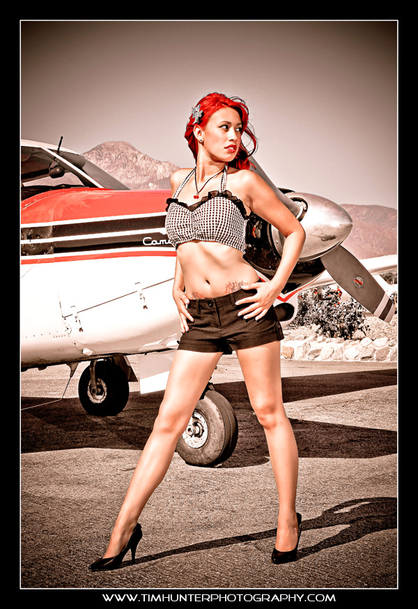 Cable Airport, Upland, California Aug 23, 2010 Tim Hunter Photography Look Away
