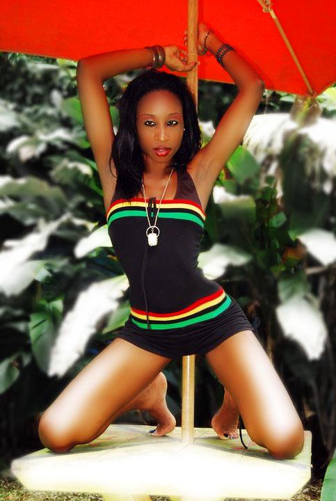 Female model photo shoot of Keneisha Mitchell by Sheldon Brown in negril jamaica