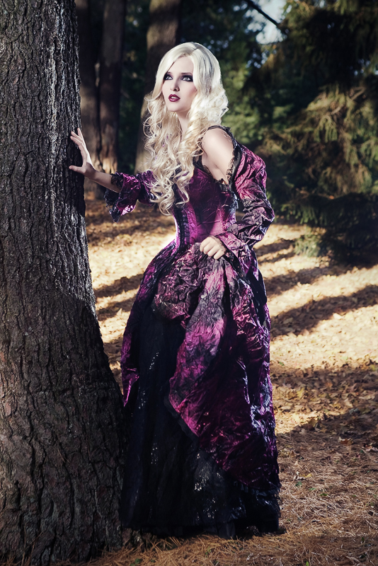 Female model photo shoot of Mademoiselle k by Kyle Buttler