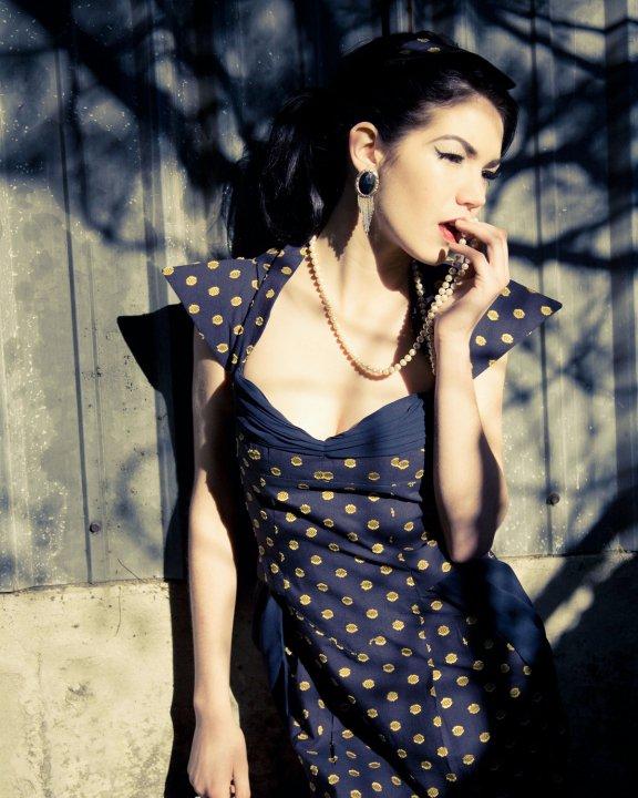 Los Angeles Aug 25, 2010 Designer: Alexis Evelyn Model: Alexandra Mathews Photographer: Katee Laine Heagen Make-up: Kara Breen Dixie Trace- Love interest