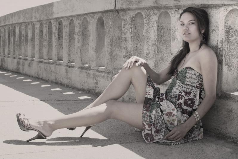 Female model photo shoot of Piliwale by Tom Nielsen