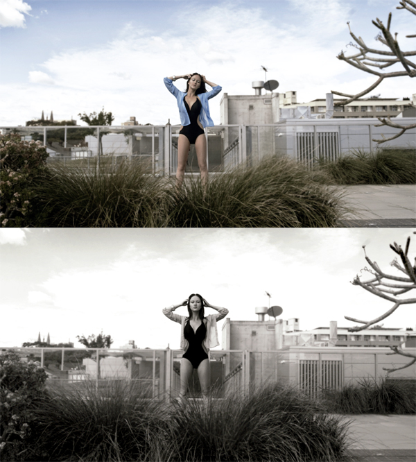 Female model photo shoot of heidihannele by Olivia Sari-Goerlach, makeup by Kate Clifton