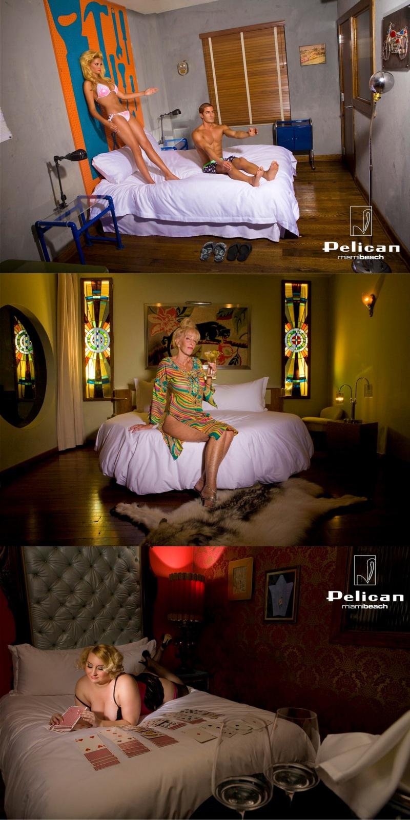 Male model photo shoot of Richard Cordero in Pelican Hotel, Miami Beach