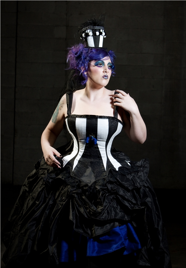 Aug 31, 2010 Beetle Juice Couture Gown for Kink Magazine