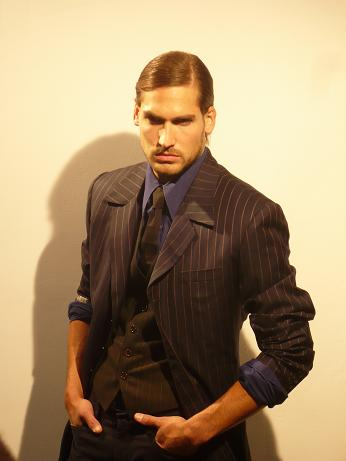 Male model photo shoot of Daniele Gravel in Los Angeles