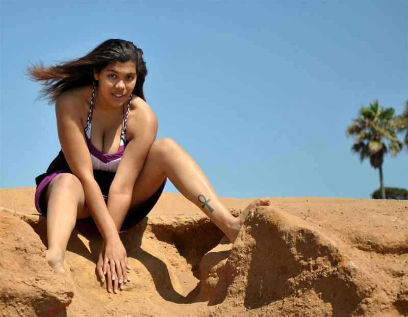 Male and Female model photo shoot of Spotted by Mike and JettaStarr in Sunset Cliffs San Diego, CA
