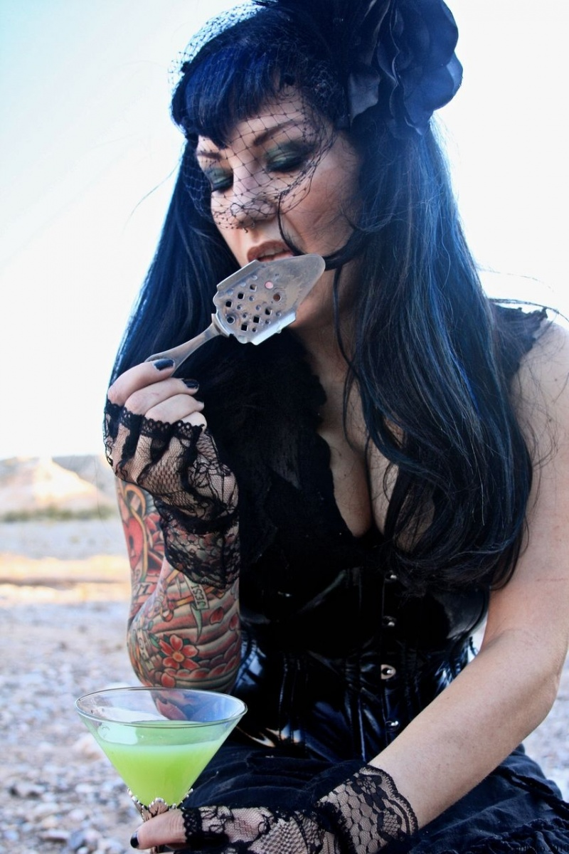 Female model photo shoot of Avalon Absinthe by terminated user
