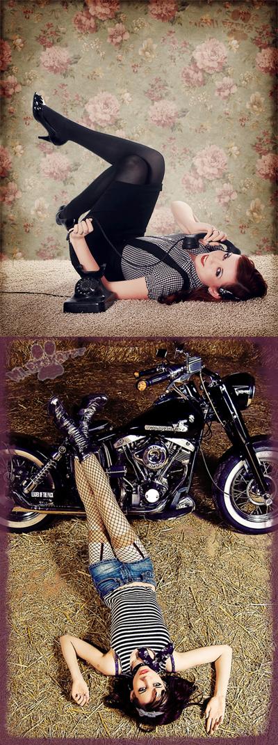 Female model photo shoot of Jinx Alice Marsh by Lichtgallery, digital art by Karma-Manipulation