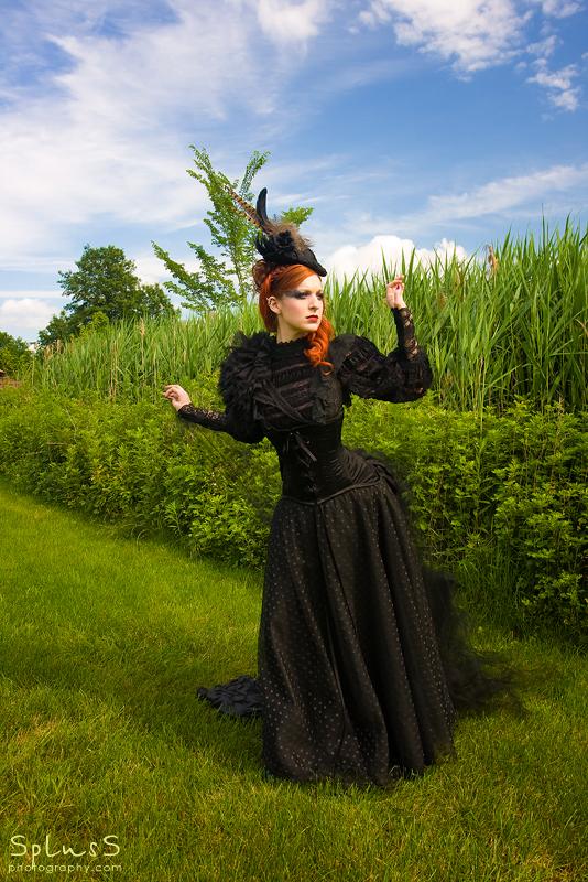 Female model photo shoot of Bizarre Boudoir by Black Room Photo