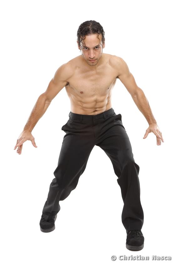 Studio Shenzhen, China Sep 03, 2010 Christian Nasca Kung Fu Fight Choreographer