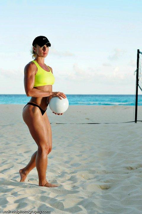 Cancun, Mexico Sep 06, 2010 Andres de la Rosa Volleyball!