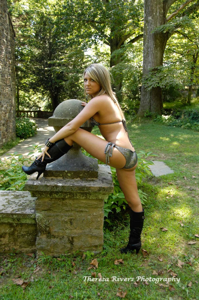 Female model photo shoot of T Rivers Photography in Ridley Creek State Park