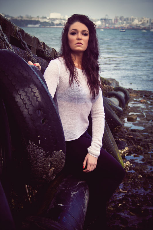 Female model photo shoot of deek images and Regan Hillyer in North Shore, Auckland