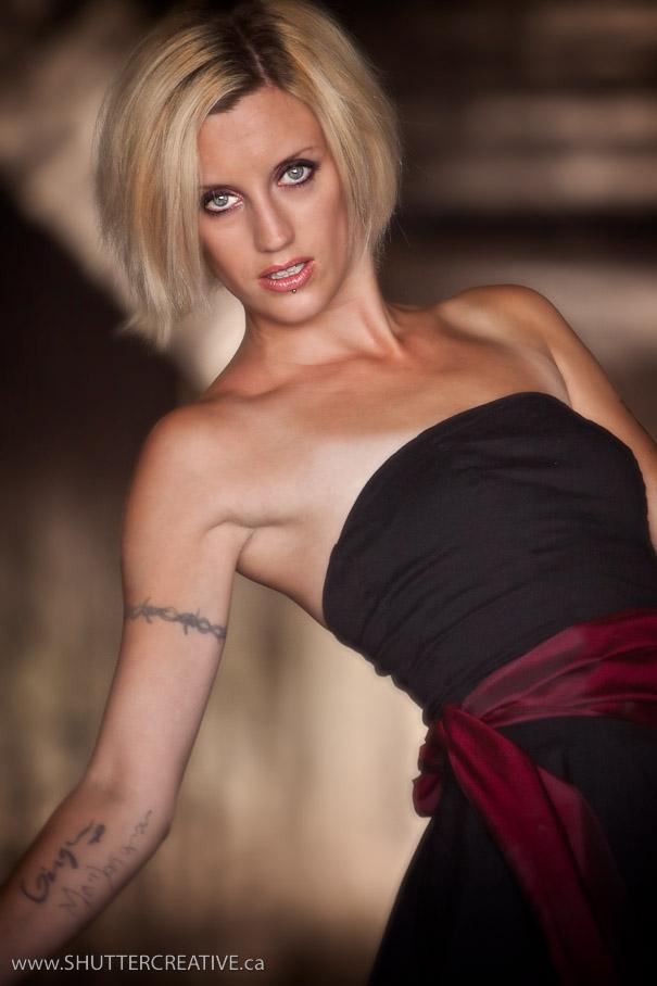 Female model photo shoot of JennaJennnnn in a tunnel in halifax :)
