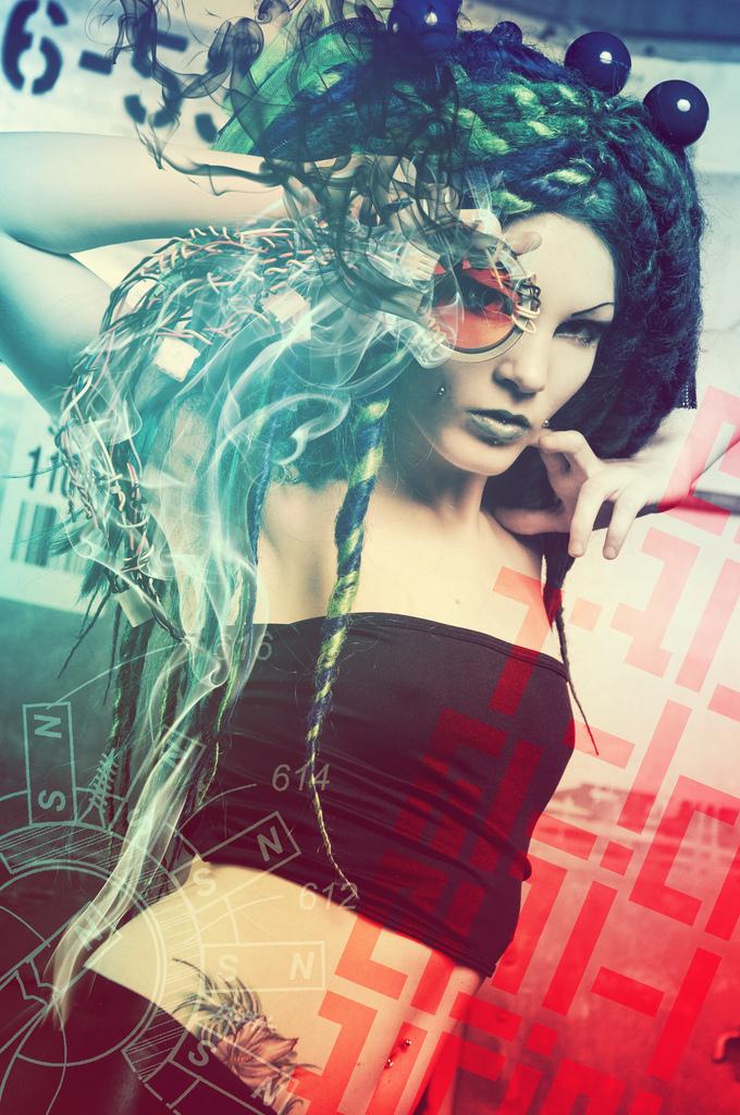 Sep 07, 2010 Cyberpunk! for Machete Girl Magazine http://www.machetegirl.com