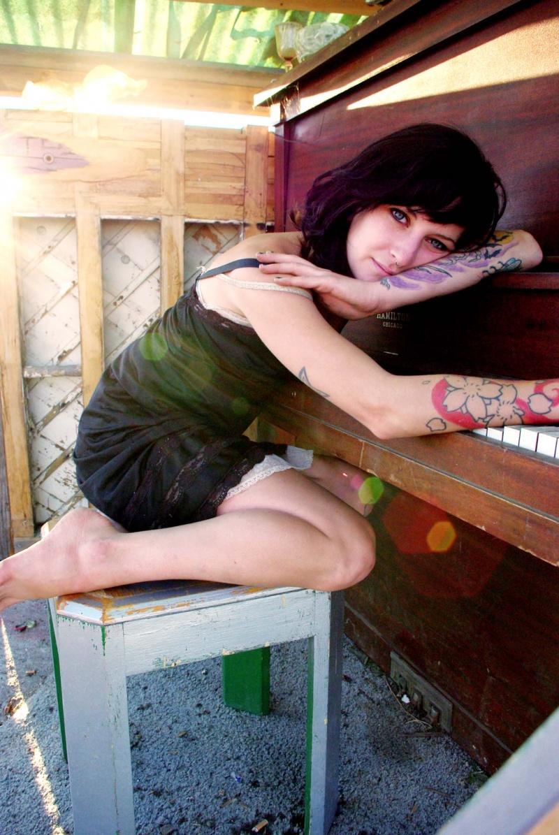 Female model photo shoot of circut by DavidHTG