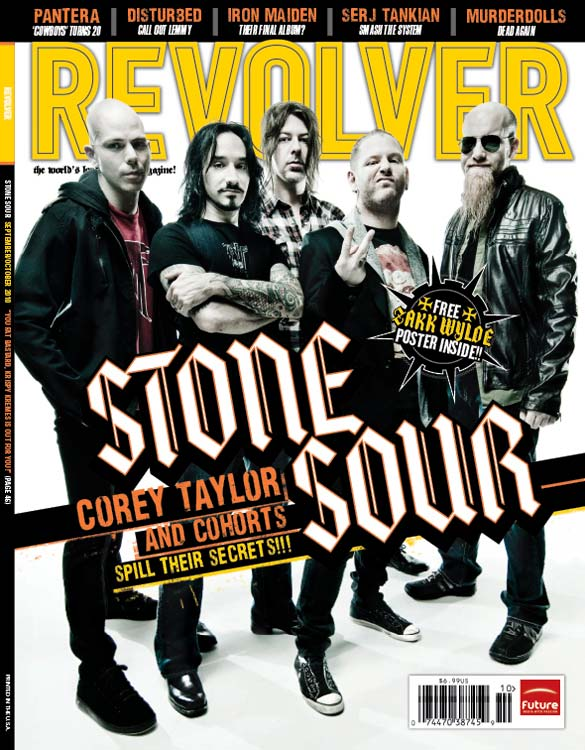 Sep 07, 2010 P.R BROWN STONE SOUR REVOLVER MAGAZINE