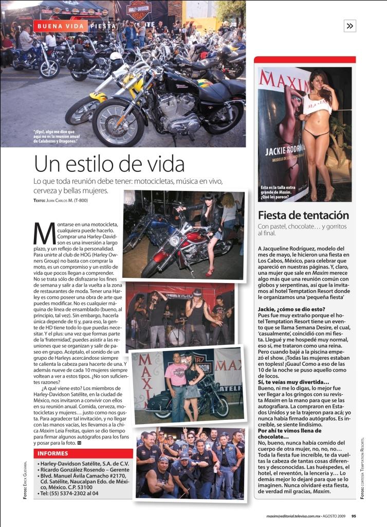 Cabo San Lucas, Baja Mexico Sep 08, 2010 Maxim Magazine Latinoamerica My Maxim portfolio party report!