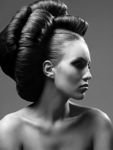 Female model photo shoot of Ginger Hairstylist by Drexina Nelson