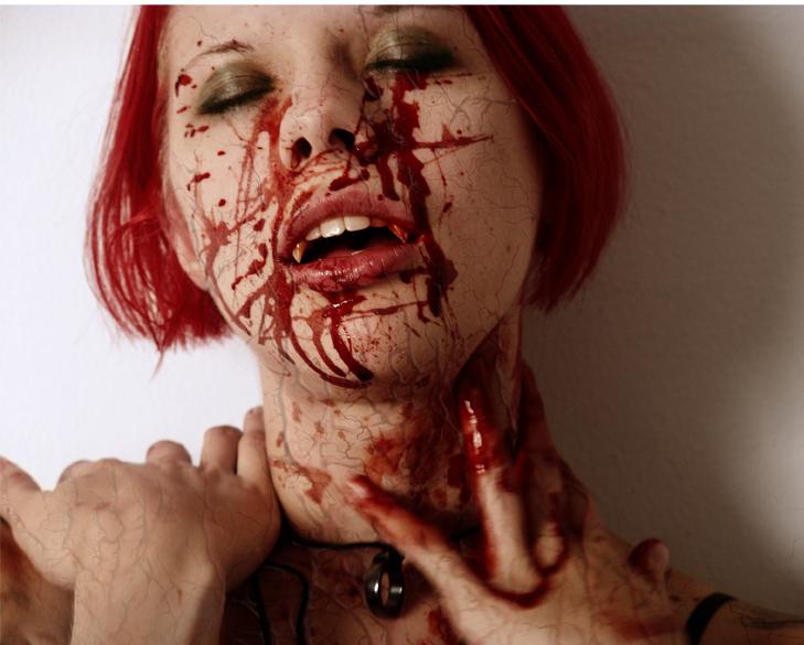 Female model photo shoot of randomly spaztik by stavros