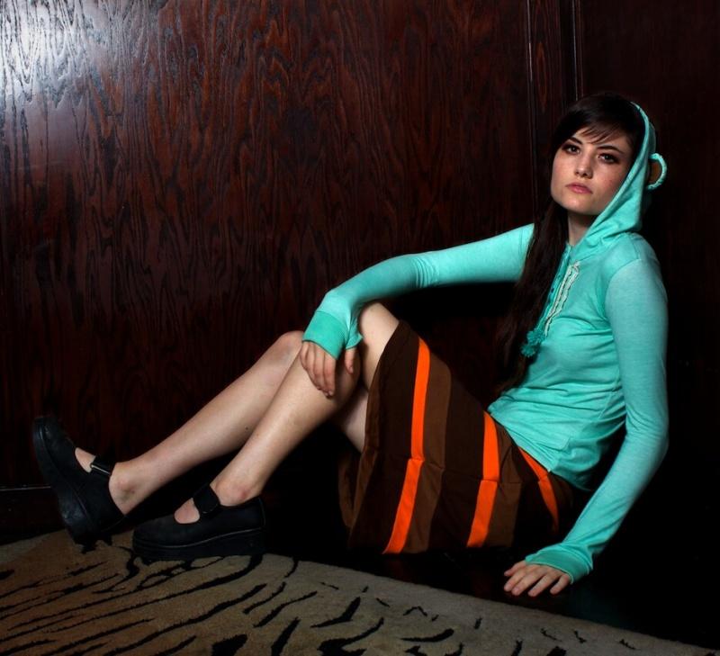 Female model photo shoot of KatastrophicDesign and Michaela Barnett  in The Gibson Room, Austin, TX