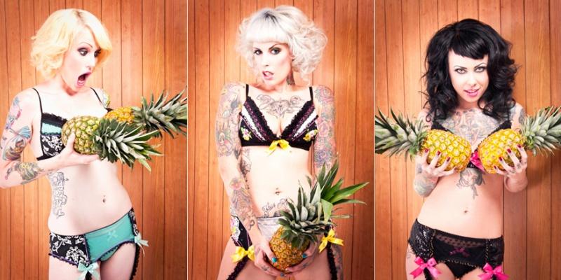 Phoenix AZ Sep 13, 2010 Purrfect Pineapples//Makeup: Yildiz//Photog: Nicolle Clemetson