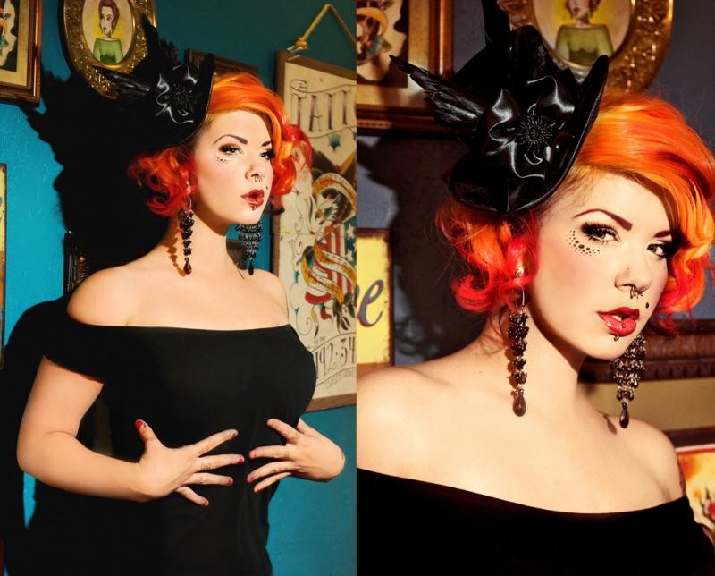 Bazinga! Beauty Parlor Sep 14, 2010 2010 Elizabeth Welsh & Sarah-Rochelle Fisher Hair/MUA: Me.