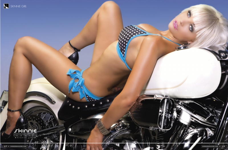 Sep 15, 2010 CENTERFOLD Skinnie Girl of The Month (Skinnie Magazine)