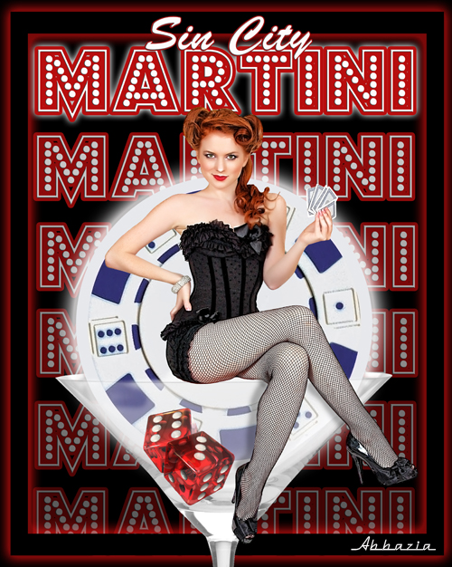 Vegas, baby! Sep 17, 2010 Al Abbazia Sin City Martini