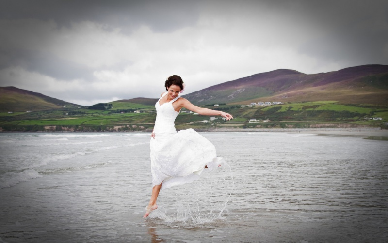 Inch, Kerry, Ireland Sep 19, 2010 Marc M Photos Trash the Dress