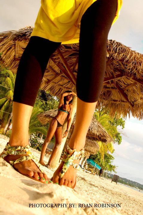 Female model photo shoot of Keneisha Mitchell in negril jamaica