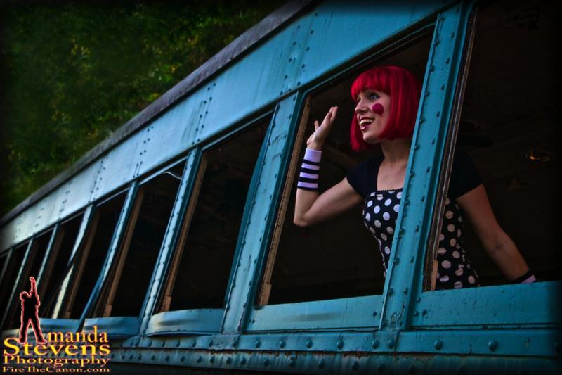 Abandoned Train Yard - NJ Sep 23, 2010 Amanda Stevens Photography Model: Jordana