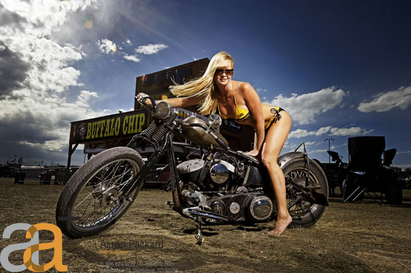 Sturgis, SD Sep 24, 2010 2010 © Aaron Packard 2010 Buffalo Chip Poster Model