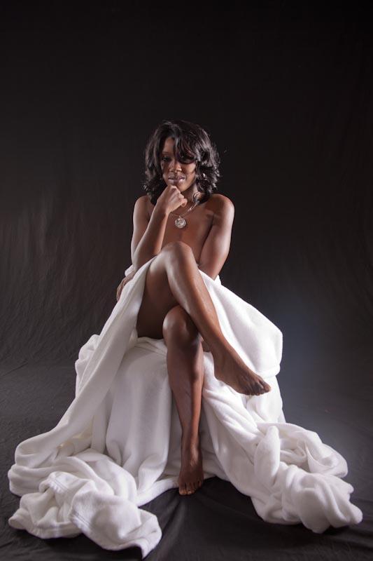 Female model photo shoot of Nya Fiya by DKnox Photography in riverdale, ga