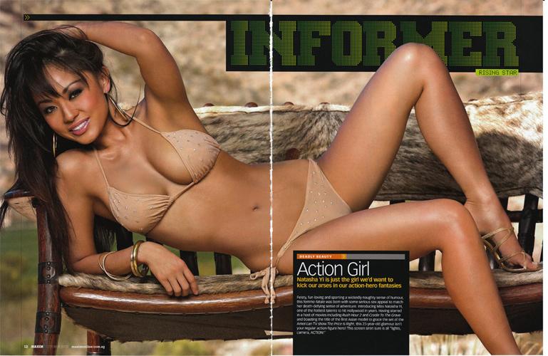Sep 24, 2010 Maxim Magazine feature