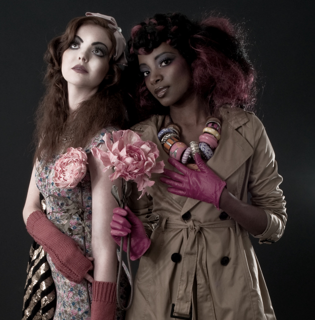 Female model photo shoot of Ainewalsh and Ruvimboruu by veronica dick, wardrobe styled by Franzi Hensel Style, makeup by Ainewalsh