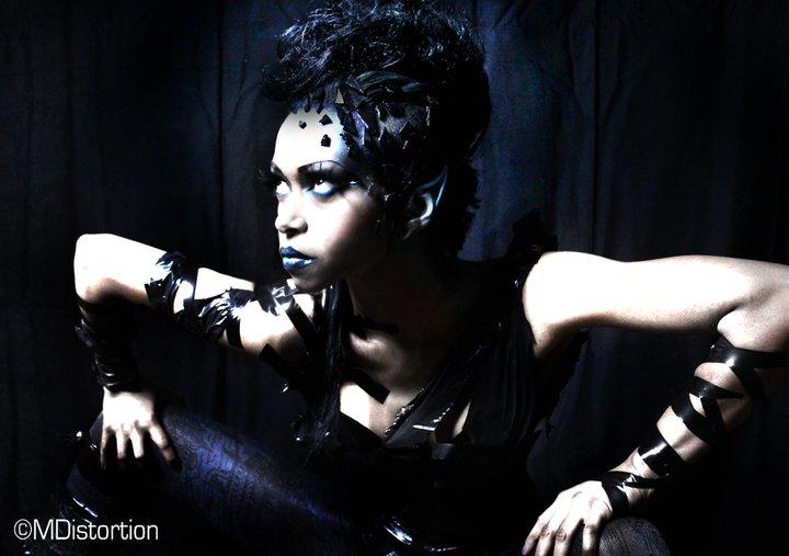 Female model photo shoot of Agnieshka MakeUp in London