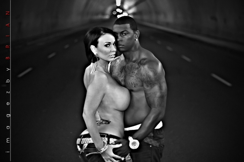 la Tunnel, Los Angeles Ca (on location) Sep 27, 2010 la Shoot with Imagezbybrian (Couple shot)