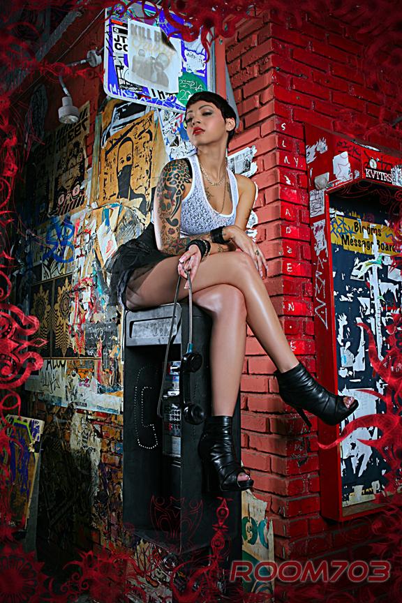 Female model photo shoot of CC Moten by ROOM703