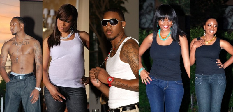 Female model photo shoot of B Michele Designs in various