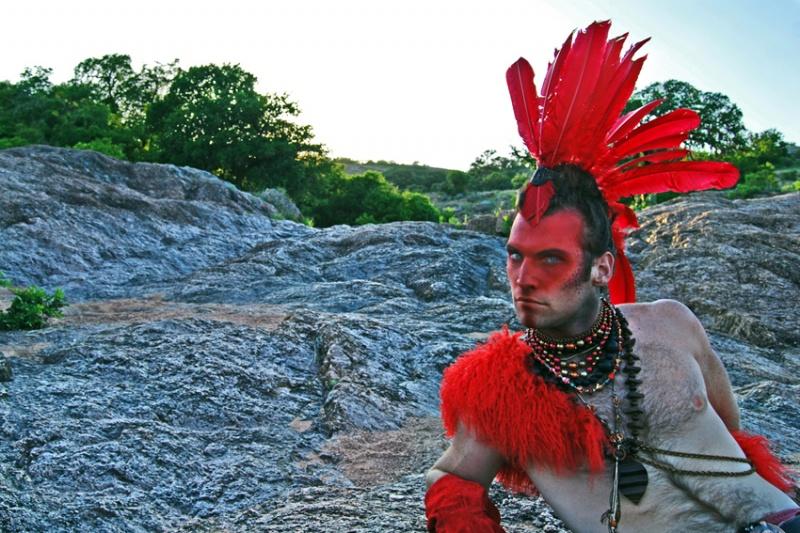 Enchanted Rock, TX Sep 27, 2010 2010 - benson/2 Men 1 Calendar Enchanted Archer