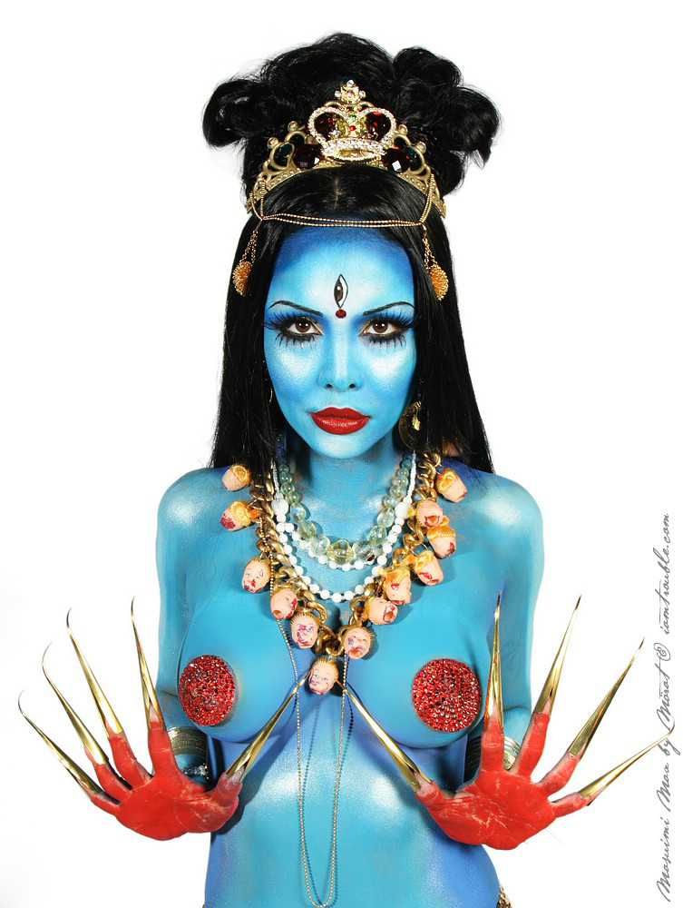 Sep 27, 2010 Masuimi Max as Goddess Kali - photos by the amazing Morat / body Paint Jennifer Corona