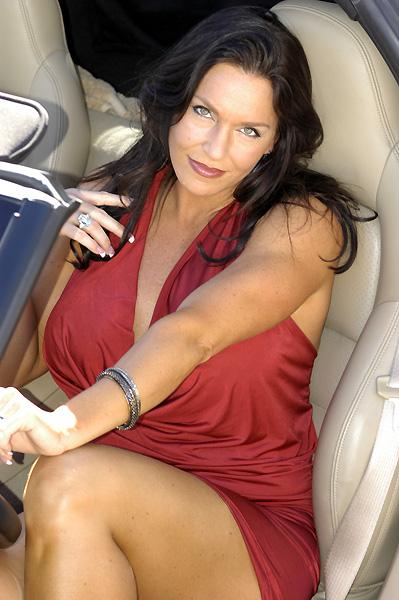 Las Vegas, NV Sep 30, 2010 Rick Morrison Photography Red Dress
