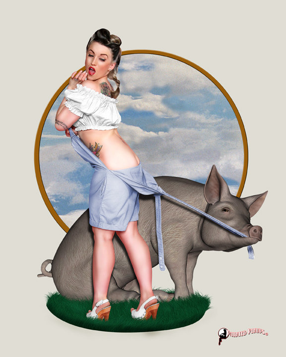 Sep 30, 2010 Painted Pinups Pork Chop Pinup