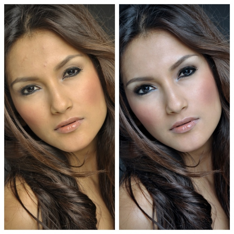 Female model photo shoot of Kat Juarez  and katherine Val by Juni Banico photography, makeup by ROXY DAVIS